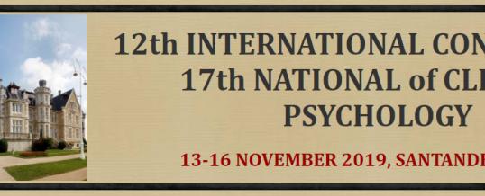 12. međunarodni kongres kliničke psihologije – Španjolska